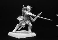 Valeros, Iconic Male Human Fighter (Miniature Human Figures compare prices)