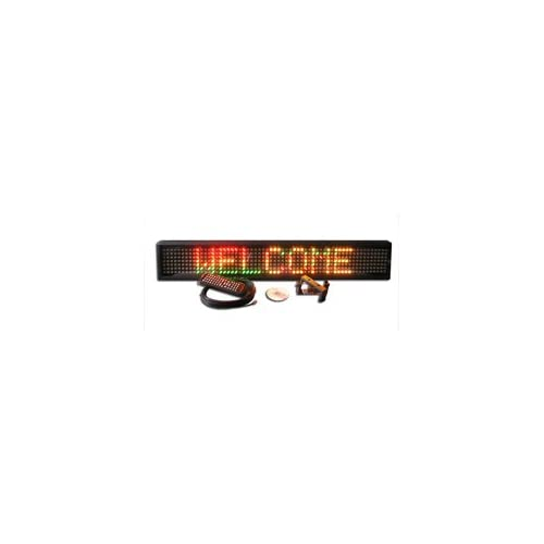 Econo Programmable Multi Color LED Window Sign Display 6 x 37.5