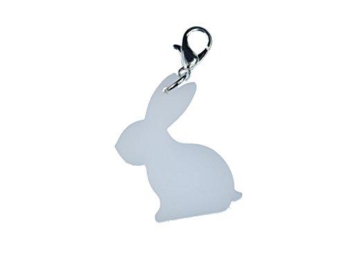 conejo-colgante-colgantes-miniblings-oster-hase-plexiglas-blanco