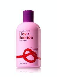Bath and Body Works True Temptations I Love Licorice Body Lotion 8 fl oz/236mL