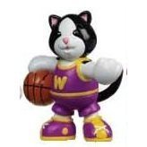 Webkinz Mini PVC Figure Shootin' Hoops Black and White Cat