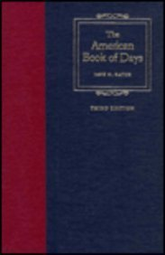The American Book of Days