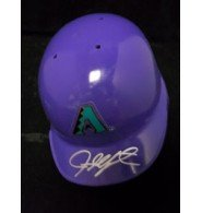 Signed Upton, Justin ( Arizona Diamondbacks) Arizona Diamondbacks Mini Helmet... by Powers+Collectibles