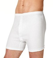 2 Pack Classic Pure Cotton Trunks