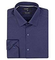 Autograph Pure Cotton Plain Shirt