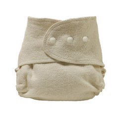 SageDiaper Organic Fitted Diaper , Size 1 5-19 lbs