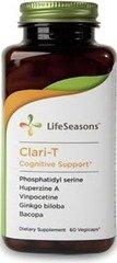 Clari-T Cognitive Support Life Seasons 60 Caps