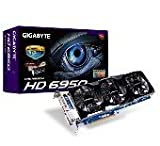 GIGABYTE グラフィックボード AMD Radeon HD6950 1GB DVI HDMI DisplayPort WINDFORCE3X オーバークロック GV-R695OC-1GD