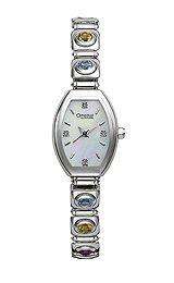Caravelle Diamond Mother-of-Pearl Dial Women's Watch #43P006