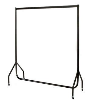 2 x Heavy Duty Clothes Rails 4ft Long x 5ft High TWIN PACK SUPERIOR STORAGE RAILS