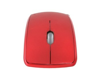 Transportable Advanced 2.4GHz Wireless Microsoft Arc Mouse (Red)