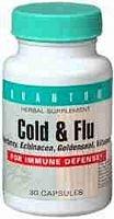 Quantum - Cold & Flu, 30 Capsules