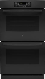 "Ge Jt3500Dfbb 30"" Black Electric Double Wall Oven"