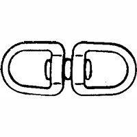 Double Eye Swivel front-688288