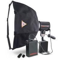 Photoflex Triton Flash Lithium Battery Powered 300 Watt Second Strobe Kit with Extra Small OctoDome SoftBox