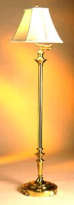 Kichler Westwood Classics Brass Portable One Light Floor Lamp