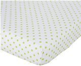 Carter's Animals Collection Fitted Crib Sheet - 1