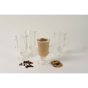 SET OF FOUR IRISH COFFEE GLASSES