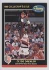Clyde Drexler Portland Trail Blazers (Basketball Card) 1987-88 Franz Portland Trail... by Franz Portland Trail Blazers