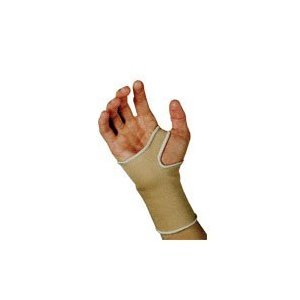 Sportaid Wrist Brace Slip On, Beige, X Large - 1 Ea