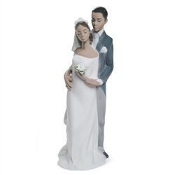 Lladro Forever Yours Porcelain Figurine/Cake Topper