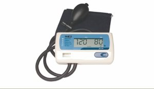 Cheap Digital Blood Pressure Monitor with Manual Inflation, 1EA, Large Adult (707A-X)