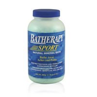 Queen Helene Batherapy Sport Natural Mineral Bath - 16 oz - Pack of 4