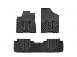 WeatherTech W165-W25 Floor Mat, Rubber, Front/Rear (Weathertech W165 compare prices)