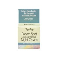 Reviva Labs Brown Spot Night Cream with Kojic Acid Facial Night Treatments