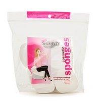 Swisspers Premium Cosmetic Sponges, 8-Count (Pack of 4)