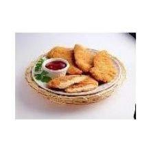 Crispy Lishus Medium Line Flow Chicken Tenderloin Fritter, 10 Pound -- 1 Each.