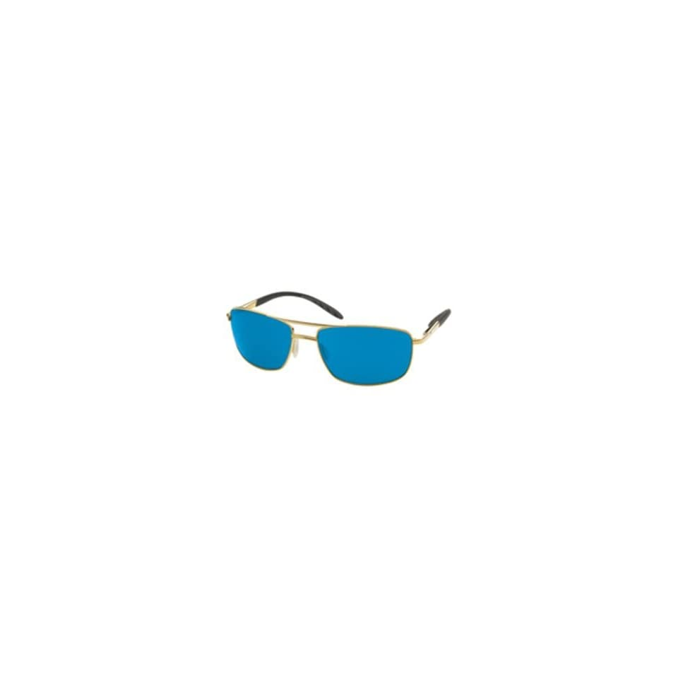 05ff3bd50903e Costa Del Mar Wheelhouse Polarized Sunglasses Costa 400 Glass Lens  Gold Blue Mirror
