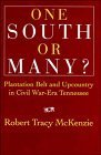 img - for One South or Many?: Plantation Belt and Upcountry in Civil War-Era Tennessee ( Hardcover ) by McKenzie, Robert Tracy published by Cambridge University Press book / textbook / text book