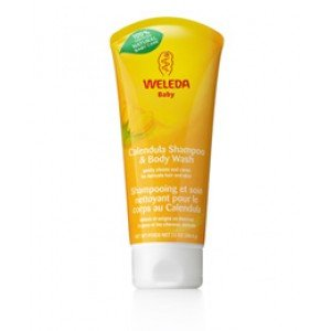 Weleda Baby Calendula Shampoo and Body Wash 6.8 oz.