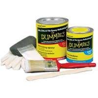 Bath, Sink & Tile Epoxy Refinishing Kit For Dummies, White