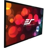 "Elite Screens 85 Inch 2:35:1 Sableframe Acoustically Transparent Fixed Projector Screen (33""Hx77.6""W)"