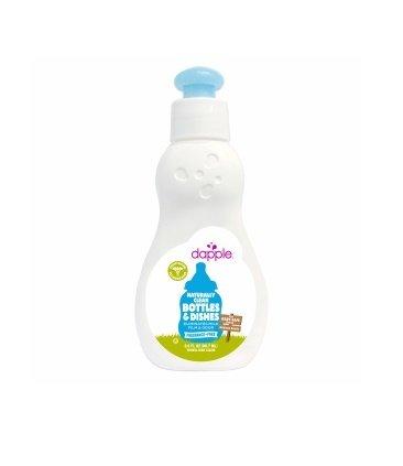 Dapple Baby Bottle & Dish Liquid Fragrance-Free Travel Size 3 oz - 1