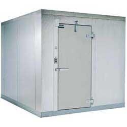 "Kolpak Kf7-810-F Remote Refrigeration - Walk In Freezer, 7 Ft. 9"" X 9 Ft. 8"" front-612294"