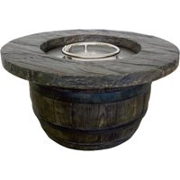 Vineyard-Rustic-Propane-Fire-Table-36in-Dia-x-18inH