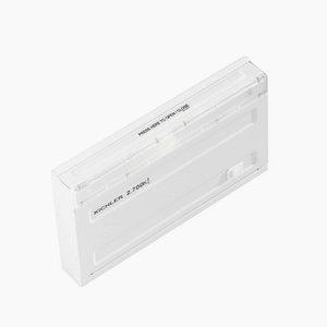 Kichler 12064Wh27 Designpro Led 3W 120-Volt 2700K Direct Wire Undercabinet Fixture, 7-Inch, White Finish