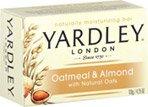 Yardley of London, Moisturizing Soap Natural Oatmeal and Almond 4 Ea