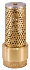 National Brand Alternative 260970 Brass Foot Valve,1-.25 In. ,Lf