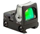 Ruggedized Miniature Reflex Dual Illuminated Sight 9.0 Moa Green Dot Rifle Scope With Rm33 Mount