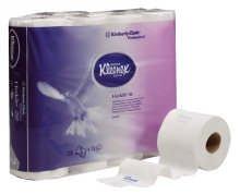 kleenex-kleinrollen-toilet-tissue-3lagig-gepragt-superhochweiss