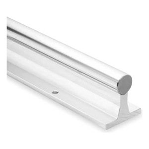 "Thomson SRA24L48 Rail Assembly, Aluminum and Steel, 1.5"" Diameter, 48"" - 1"