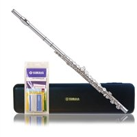 Yamaha yfl 221 student flute silver plated instruments sale for Yamaha yfl225s flute sale