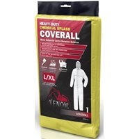 Venom Chemical Resistant Coveralls, Large/X-Large