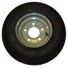 AMRM-DM412B-5G-I * 4.80 x 12 Martin Wheel Trailer & Tire Rim Assembly 480 Series 5 Lug - Galvanized Rim
