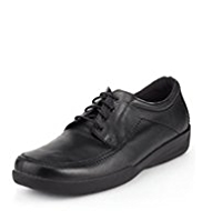 Airflex™ Comfort Leather Extra Wide Lace Up Shoes