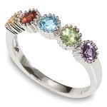 Semi Precious Gemstone Ring